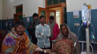 Foto do hospital de Saharanpur, na India.