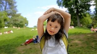 La trisomie 21 ou syndrome de Down est provoquée par une anomalie génétique (photo d'illustration).