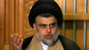Moqtada al-Sadr a annoncé la dissolution de ses «—casquettes bleues—».