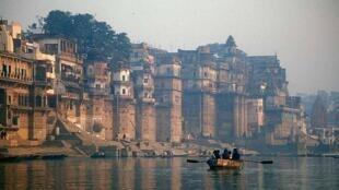 Một đoạn sông Hằng, bang Uttar Pradesh, Ấn Độ