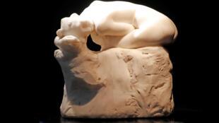 "A escultura ""Andrômeda"", do artista francês Auguste Rodin."