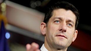 Chủ tịch Hạ viện Mỹ Paul Ryan trong cuộc họp báo tại Washington, ngày 26/05/2016