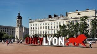 Vista parcial de Lyon