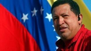 Hugo Chávez, Presidente da Venezuela, faleceu aos 58 anos de idade a 5 de Março de 2013