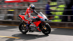 Ducati rider Andrea Dovizioso will star from the pole position for the Japanese MotoGP.