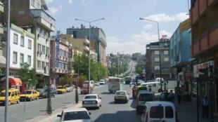 Une rue de Gaziantep (image d'illustration).