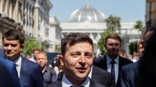 Le président ukrainien Volodymyr Zelenskiy, le 20 mai.