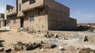 Construction à Cayar, région de Thiès, Sénégal