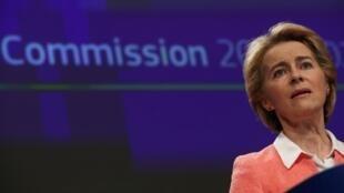 Bà Ursula von der Leyen, tân chủ tịch Ủy Ban Châu Âu, ngày 10/09/2019