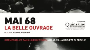 Mai 68 La Belle ouvrage poster by Jean-Luc Magneron