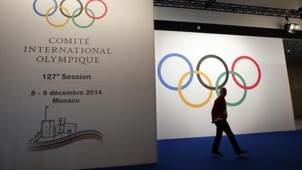 Sessão do COI, em Mônaco.