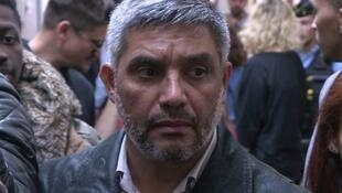 L'ancien guérillero chilien Ricardo Palma Salamanca, au Palais de Justice de Paris le 10 octobre 2018.