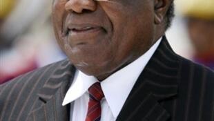 Le président namibien réélu, Hifikepunye Pohamba.