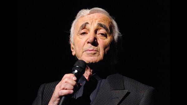 Charles Aznavour en 2007.