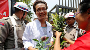 Nhân dịp Năm Mới, tổng thống Miến Điện ân xá hơn 8000 tù nhân. Ảnh chụp trước của nhà tù Insein, Rangoon, ngày 17/04/2018