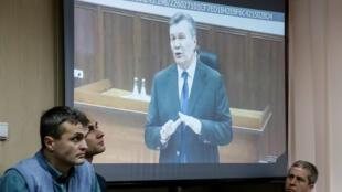 Видеодопрос Виктора Януковича, 28 ноября 2016.