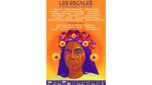 Affiche du festival «Les Escales de Saint-Nazaire».