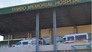 Tambo memorial hospital in Boksburg