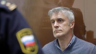 Майкл Калви в Басманном суде сразу после ареста. 16.02.2019