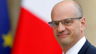 El ministro francés de Educación, Jean-Michel Blanquer, 18 de mayo de 2017.