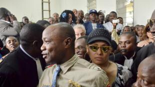 Le chanteur congolais Koffi Olomidé devant un tribunal de Kinshasa, le 16 août 2012 (Image d'illustration).