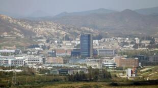 Khu công nghiệp Kaesong - Ảnh tháng 9/2013.