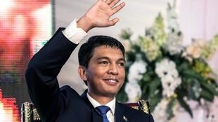Rajoelina, now 44, was installed by the army and ruled until 2014. (File photo, 2014)