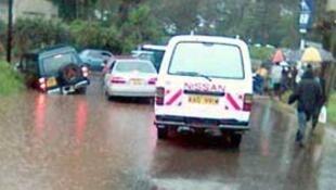 Rainfall during Kenya's long rainy season