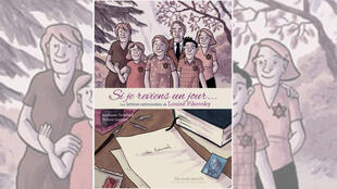 La couverture de la bande dessinée «Si je reviens un jour» les lettres retrouvées de Louise Pikowsky.