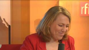 Danielle Simonnet, Conseillère de Paris et coordinatrice du Parti de Gauche.