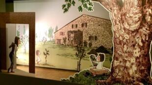 Exposition «Catherine Meurisse, chemin de traverse» Festival de la BD d'Angoulême, musée du papier.