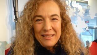 Sonia Goldenberg en los estudios de RFI.