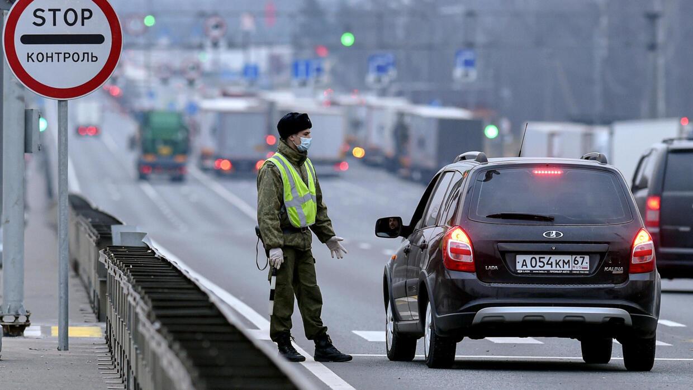 Thủ đô Moscow Nga ban hành lệnh cấm ra đường