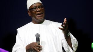 Ibrahim Boubacar Keita foi reeleito para um segundo mandato no país.