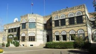 French embassy in Sanaa, Yemen.