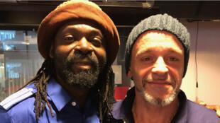 Freddy Tsimba et Renaud Barret.