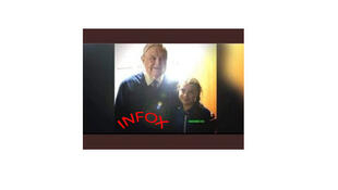 Infox: une photo-montage de George Soros et Greta Thunberg.