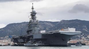 Le porte-avions «Charles-de-Gaulle» devait initialement revenir à Toulon le 23 avril prochain. Il sera donc à son port d'attache un peu plus tôt.