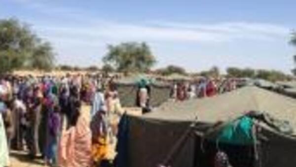 Wasu daga cikin 'yan gudun hijirar Boko Haram a yankin Diffa na Nijar