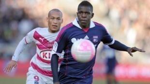 Le Lyonnais Samuel Umtiti.