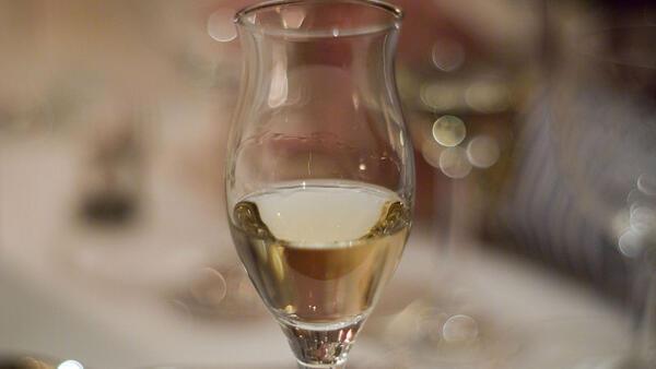 A glass of tasty grappa