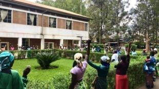 Les survivantes de violences sexuelles à l'Hôpital de Panzi à Bukavu en RDC.
