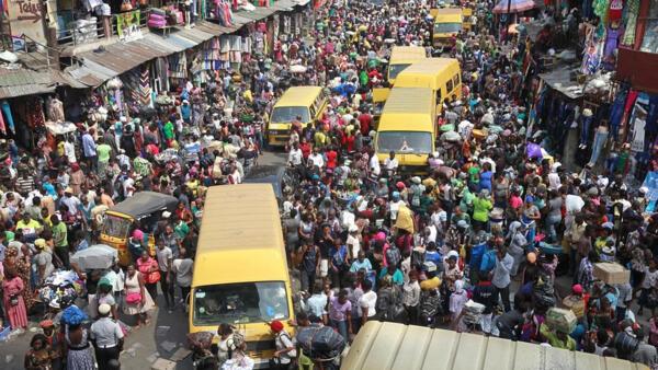 Vue de Lagos au Nigeria (image d'illustration).