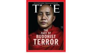Lãnh đạo phong trào 969, nhà sư Ashin Wirathu trên trang bìa tạp chí Time (time.com)