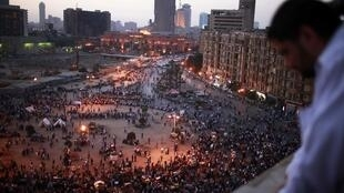 Egyptian pro-democracy campaigners called for a new uprising on Sunday, enraged that a court had spared former leader Hosni Mubarak his life over the killing of protesters