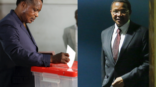 Congolese President Denis Sassou Nguesso votes in the country's referendum on October 25. Tanzanian leader Jakaya Kikwete at the UN General assembly, September 27, 2015.