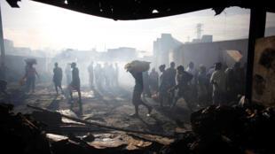 Abalado por epidemias e catástrofes naturais, o Haiti é um dos países mais pobres da região. Porto Príncipe, em 20 de março de 2017.