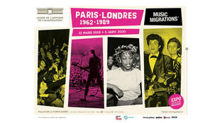 L'affiche de l'exposition au musée de la Porte Dorée à Paris, visible jusqu'en janvier 2020.