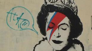 Cette œuvre de Banksy est devenue une icône de la ville de Bristol.