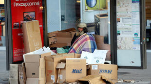 Un sans-abri à Paris, en décembre 2016 (photo d'illustration).